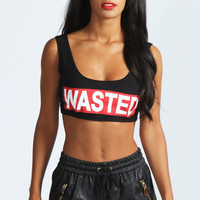 Lucy Wasted Crop Top