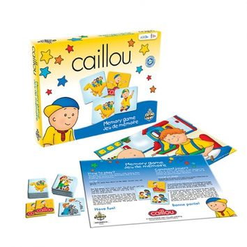 Caillou Memory Game