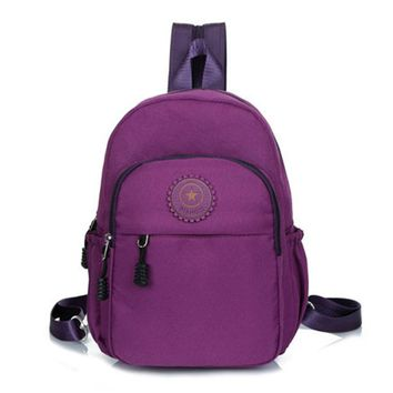 women canvas backpack 2016 new hot women's bags casual travel backpack womens small backpack PT544