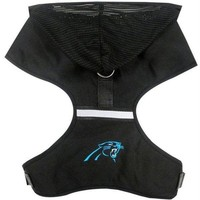 ESB7N7 Carolina Panthers Pet Hoodie Harness