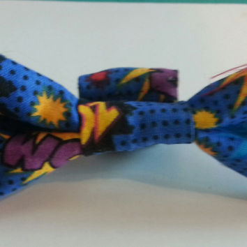 Dapper Doggie Bow Tie, Super Hero
