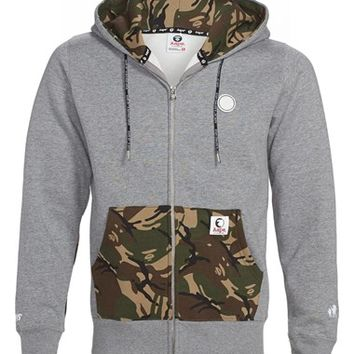 Aape by A BATHING APE Camo Detail Full Zip Hoodie (Men)