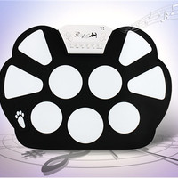 W-758 Portable Roll-up Drum Kit