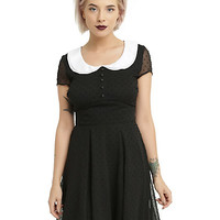 Hell Bunny Agnes Black Dress