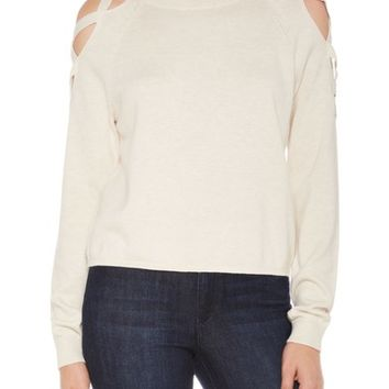 Joe's Rosie Lace-Up Sweater | Nordstrom