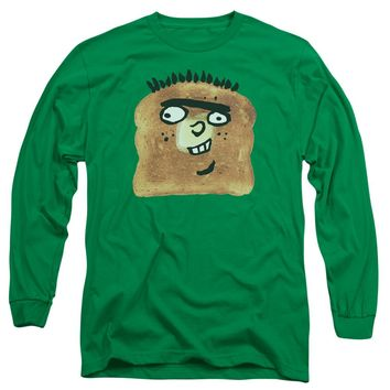 Ed Edd N Eddy - Ed Toast Long Sleeve Adult 18/1