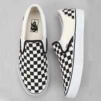 Trendsetter Vans Old School Casual Checkerboard Pattern Canvas Flats Sneakers Sport Shoes