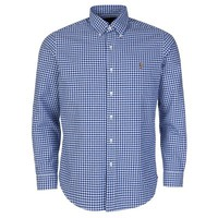 Polo Ralph Lauren Blue Gingham Check Shirt