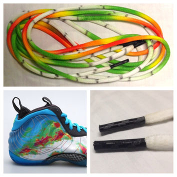 Laced Loudly Nike Weatherman Foamposite Laces