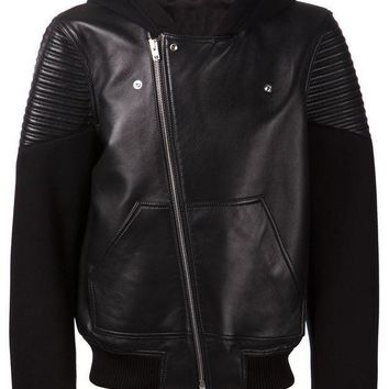 ONETOW Givenchy leather bomber jacket