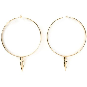 Alexandre Vauthier spike detail hoop earrings