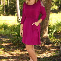 Get Your Shine On Dress: African Violet