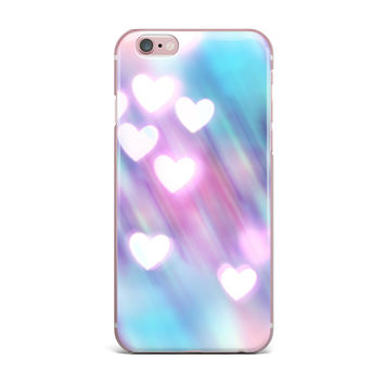 """Beth Engel """"Your Love is Sweet Like Candy"""" Heart iPhone Case"""
