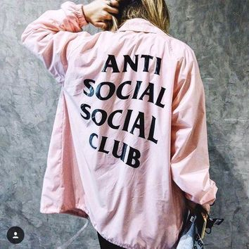 Anti Social Social Club 17ss Jacket S Xl
