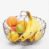 4040 Locust Hanging Wire Fruit Basket- Grey One