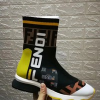 FENDI Women Fashion Casual Punk Boots Shoes