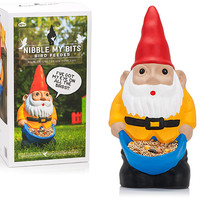 NIBBLE MY BITS GNOME BIRD FEEDER