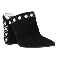 Eon Studded Suede Mules