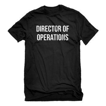 Mens Director of Operations Unisex T-shirt