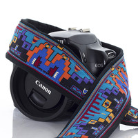 125 Camera Strap Tribal Southwestern