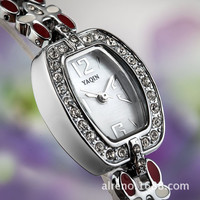 A lady's watch .A man's focus = 4445829892