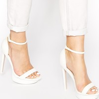 ASOS HIGH CROSS Heeled Sandals