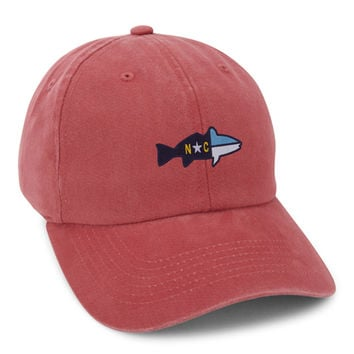 The Topsail Hat in Faded Red by Imperial Headwear