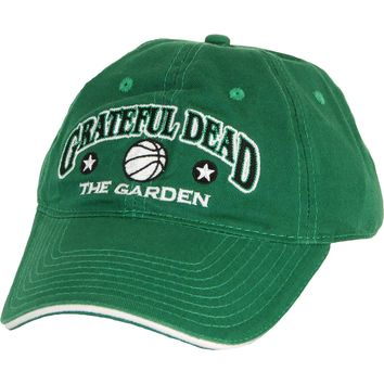 Grateful Dead Men's  Boston, MA Baseball Cap Green