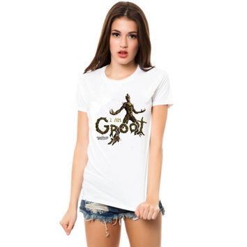 i am groot guadian of the galaxy women tshirt ----- size S,M,L,XL,2L,3XL