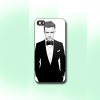 Justin Timberlake - Print on hard cover for iPhone and Samsung Galaxy case