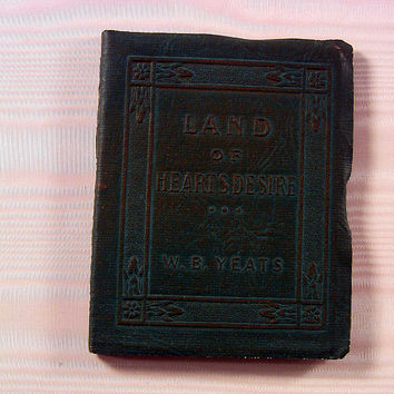 Vintage Miniature Book Land Of Heart's Desire Yeats