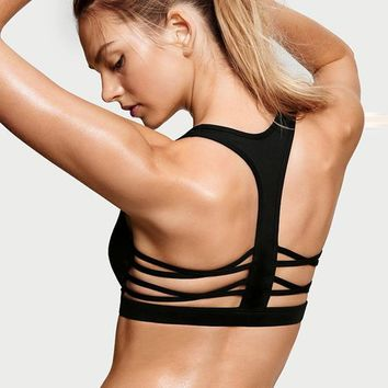 Monroe - Caged Racerback Sports Bra