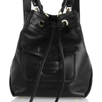 Pierre Hardy - Grained-leather shoulder bag