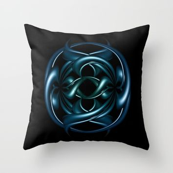Circle of life II Throw Pillow by VanessaGF