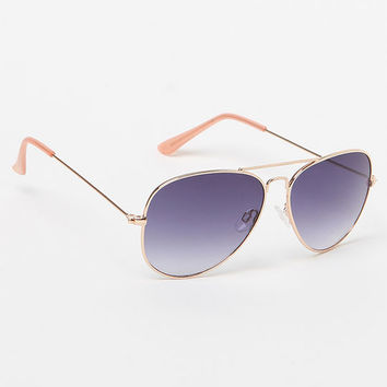 LA Hearts Classic Aviator Sunglasses at PacSun.com