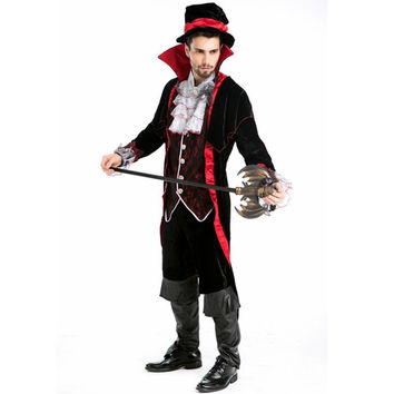 Vampire costume men Earl disfraces adultos cosplay costume halloween costume for men adult medieval victorian medieval dress Alternative Measures - Brides & Bridesmaids - Wedding, Bridal, Prom, Formal Gown