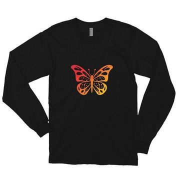 Butterfly Heat Wave Long-Sleever