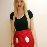 Mickey Mouse Inspired Skirt