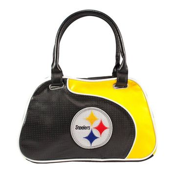 Pittsburgh Steelers NFL Perfect Bowler Purse Womens Handbag