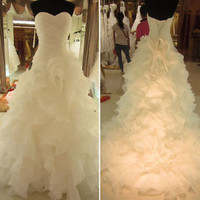 Ball Gown Wedding Dresses Fit to Flare Princess Bridal Gowns Size 2 4 6 8 10 12