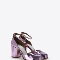 Maison Margiela Metallic Tabi Pumps Women |