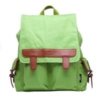 Fashion Casual Canvas Backpack School Bag