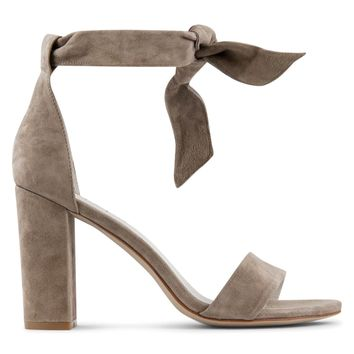 Jeffrey Campbell Tiffany Heel Sandal Women's - Taupe Suede