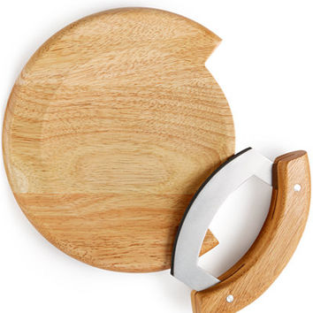Martha Stewart Collection Mezzaluna Set with Board, Only at Macy's - Cutlery & Knives - Kitchen - Macy's