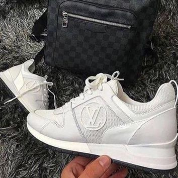 LV Shoes Louis Vuitton LV Lady Fashion Run Away Sneaker