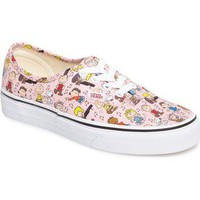 Vans x Peanuts Woodstock Authentic Sneaker (Women) | Nordstrom