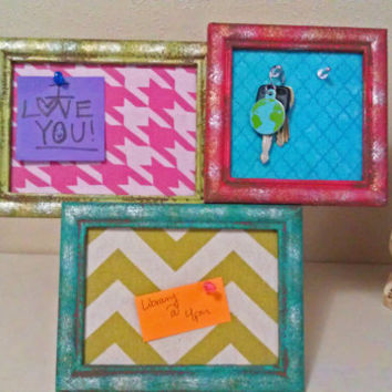 Decorative Multi-Purpose Frames || Message Board & Key Rack || Stand & Wall Mount
