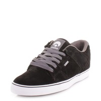 Osiris PLG VLC Skate Trainers - Black Charcoal White