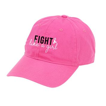 Breast Cancer Awareness Cap - Fight like a Girl