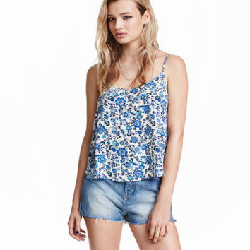 H&M V-neck Camisole Top $12.99